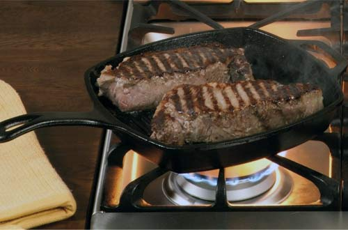 Cast-Iron Grill Pans
