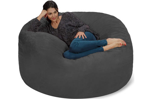 Chill Sack Bean Bag Chair with Soft Micro Fiber Cover