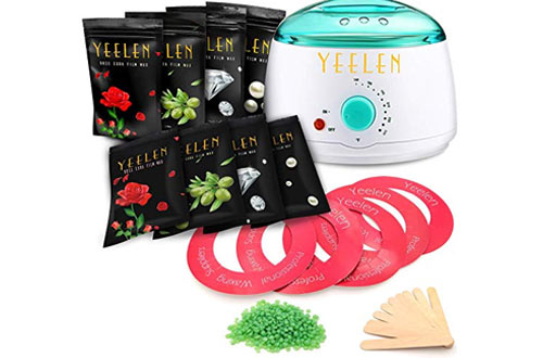 Yeelen Wax Warmer Hair Removal Waxing Kit Wax Melts