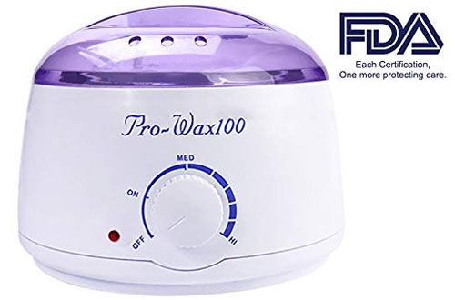 Wax Warmer, Portable Electric Hair Removal Kit