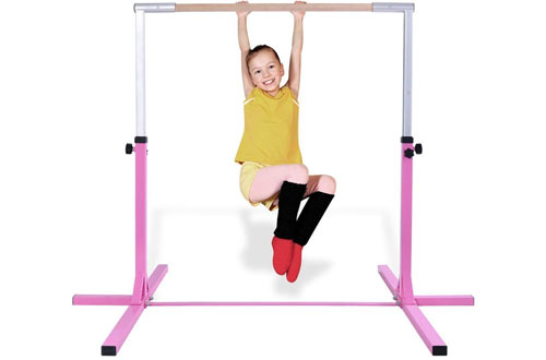 Costzon Junior Training Bar - Gymnastics Horizontal Bar