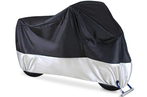 Ohuhu Waterproof Motorcycle Cover