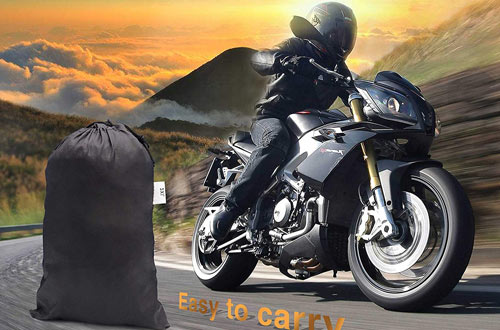 WDLHQC Waterproof Motorcycle Cover All Weather Outdoor