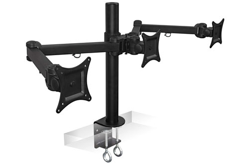 Triple Screen LCD Computer Monitor Desk Mount Stand Arm