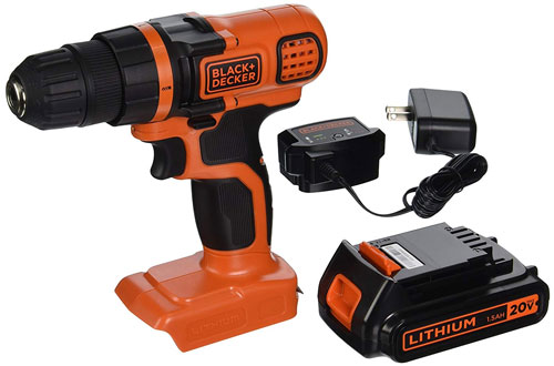BLACK & DECKER Lithium-Ion Drill/Driver