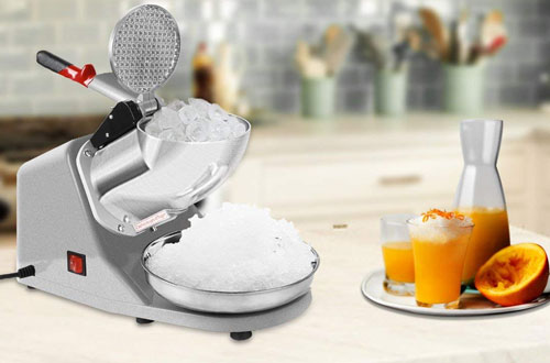 VIVOHOME Electric Ice Crusher Machinefor Home & Commerical Use
