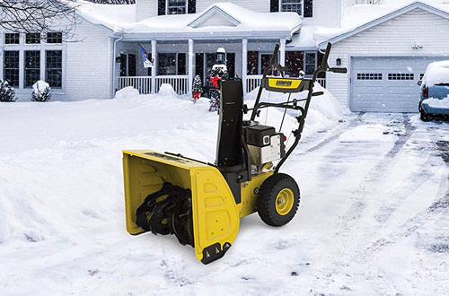 """Champion 224cc Compact 24"""" 2-Stage Gas Snow Blower"""