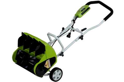 "Greenworks 16""10 Amp Corded Snow Shovel for Small & Medium Yard"