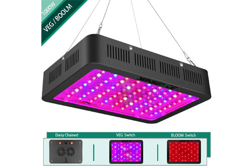 Yehsence Indoor Professional 1000w LED Grow Light with Bloom and Vegetable