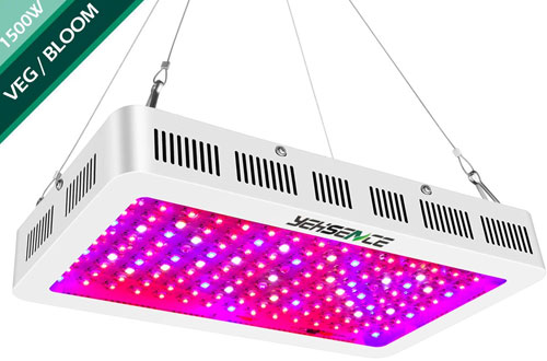 Yehsence 1500w Full Spectrum Triple-Chips LED Plant Growing Lamp for Hydroponic Indoor Plants