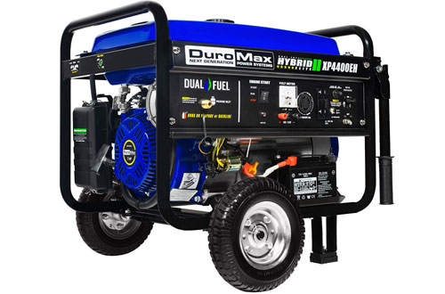 DuroMax XP4400EH Dual Fuel Portable Generator 3500 Running Watts