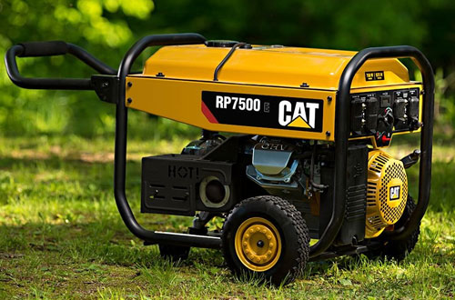 Cat RP7500E Portable Gas Generator with Electric Start