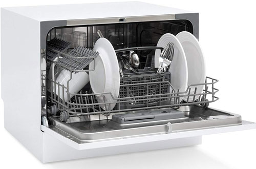 Best Choice Products Small Kitchen Portable Countertop Dishwasher