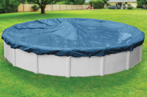 Robelle 3524-4 Super Round Winter Pool Cover for Above-Ground Swimming Pools