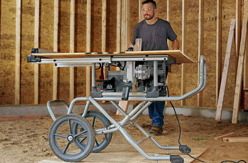 SKILSAW SPT99-11 Heavy Duty Worm Table Saw with Stand