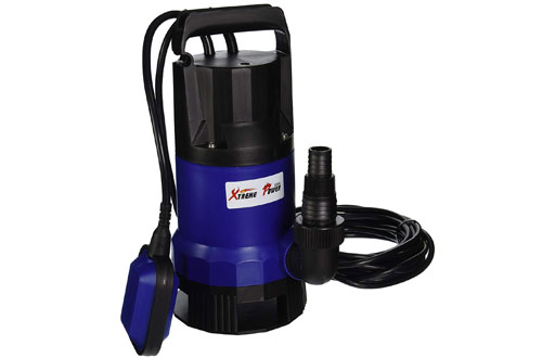 XtremepowerUS 2000GPH Clean/Dirty Water Submersible Pump