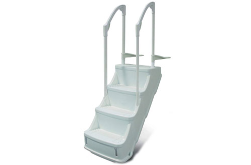 Champlain Plastics Drop-in Step Ladder for Above Ground Pools