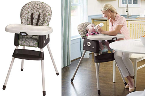 Graco Simple Switch Portable High Doll Chair and Booster