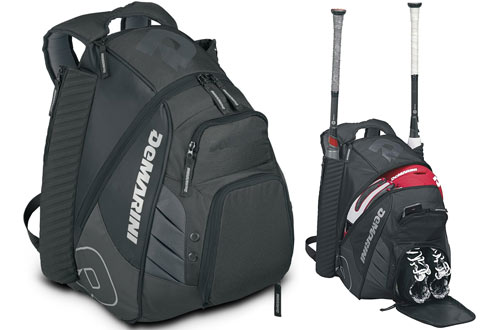 DeMarini Voodoo Rebirth Black Backpack