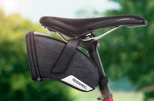 Number-One 1.5L Bicycle Strap-on Saddle Bag Bike Seat Pack Wedge