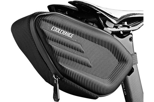 Cool Change Fully Waterproof Bike Saddle Bag - Buckle Install Cycling Bag