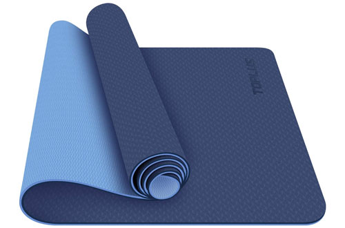TOPLUS Non-Slip Fitness Exercise Mat for Yoga Mat