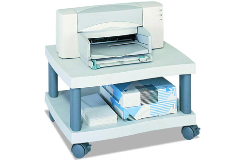 Safco Products Wave Underdesk Printer Stand