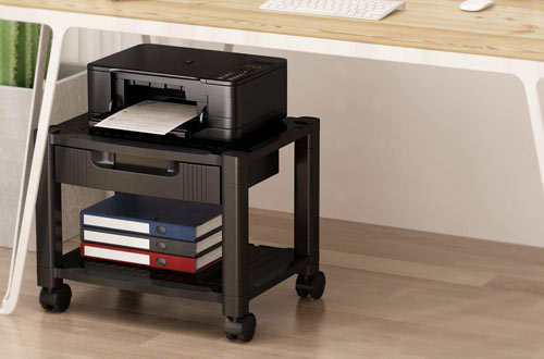 Printer Stand with Storage Drawers