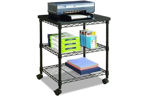 Safco Products Deskside Wire Machine Stand