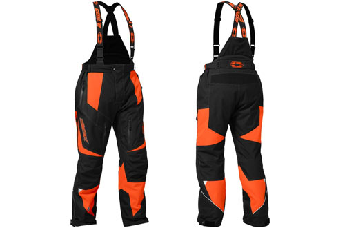 Castle X Fuel G6 Men's Orange LRG Snowmobile Pants
