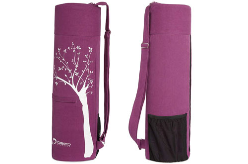 Deco Athletic Large mesh Exterior Yoga Mat Bag