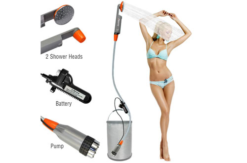 LUOOV Portable Camping Shower