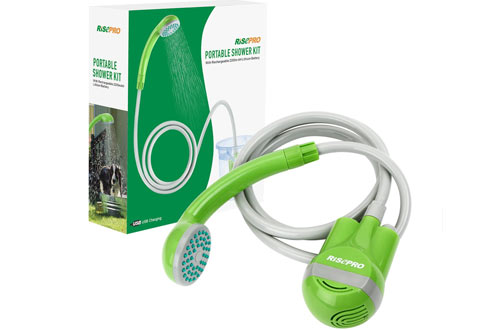 RISEPRO Portable Shower Head - Camping Shower