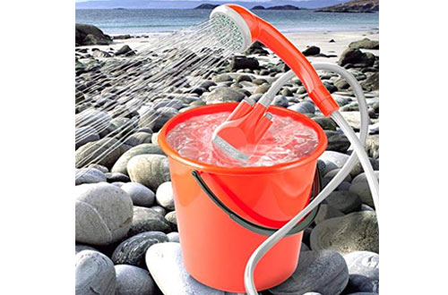 PortableBattery PoweredCamping Shower for Outdoors