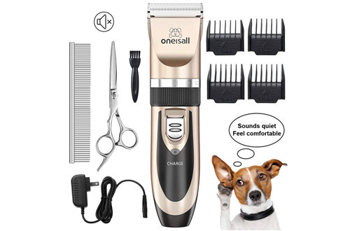 Cordless Electric Hair Clippers for Dog & Cat