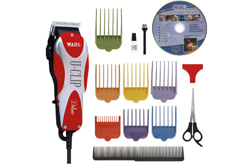 Wahl Professional Animal Deluxe U-Clip Pet Nail Clipper and Grooming Kit