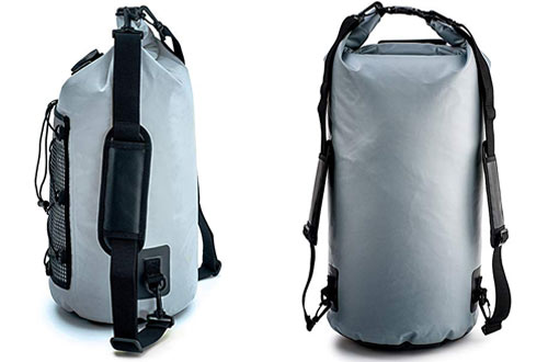 ZBRO Waterproof Dry Bag with 2 Pockets