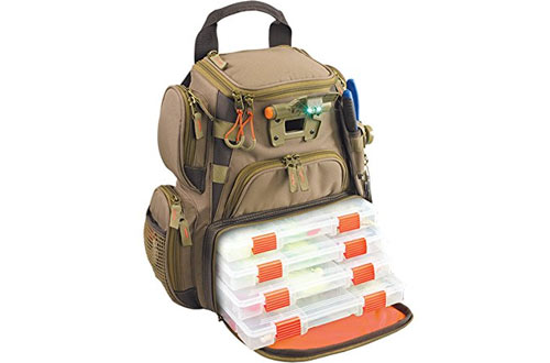 Wild River Tackle Tek Recon Lighted Compact Tackle Backpack