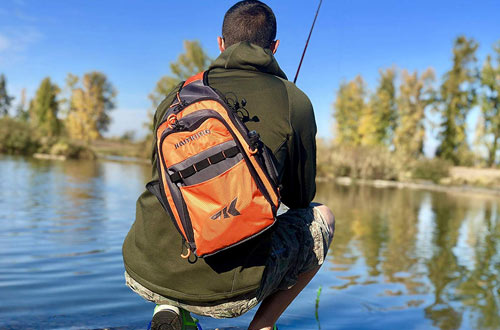 Kastking Outdoor Sling Tackle Bag Water – Resistant Fishing Bag