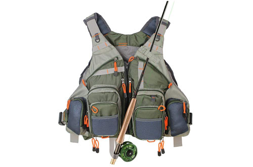 Kylebooker Fly Fishing Vest for Men and Women