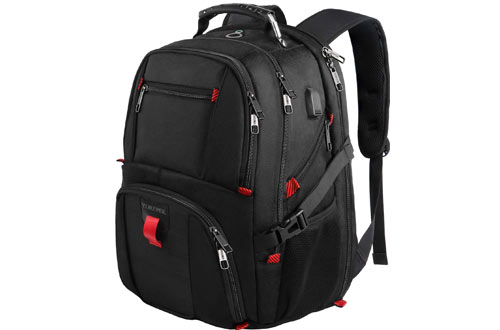 YOREPEK Extra Large College School Backpack for 17-Inch Laptop