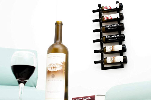 Vintage View Wall Series – Le Rustique 6 Bottle Wall Mounted Wine Rack