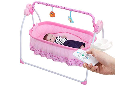 WBPINE Baby Swing Cradle Automatic Baby Bassinets