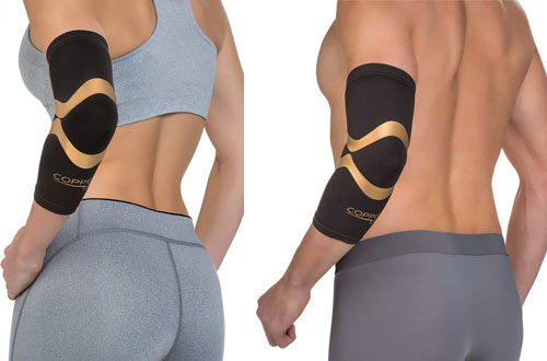 Copper Fit Pro Series Performance Compression Elbow Sleeve