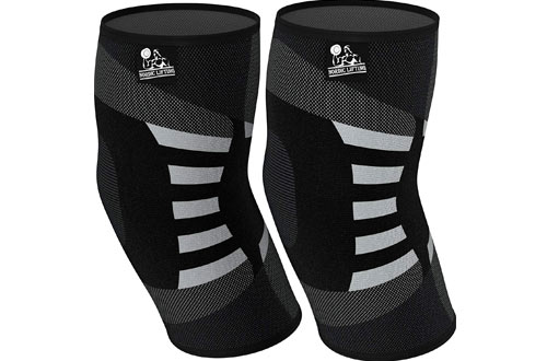 Elbow Compression Sleeves for Tendonitis Prevention & Recovery