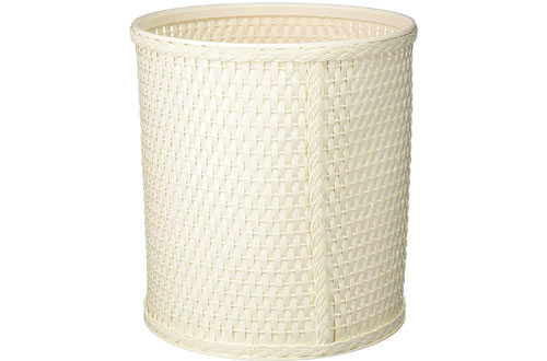 REDMOND Chelsea Collection Decorator Color Round Wicker Basket