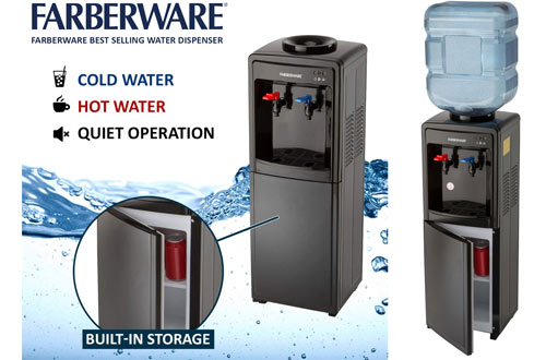 Farberware Freestanding Hot/Cold Water Cooler Dispenser
