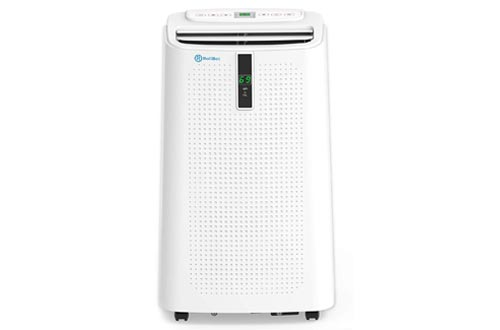 Alexa Enabled RolliCool COOL310 Portable Air Conditioner 12000 BTU - Air Conditioner with Heater, Dehumidifier, and Fan with Mobile App Size:COOL310