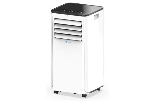 RolliCool Alexa-Enabled Portable Air Conditioner 10,000 BTU AC Unit with Heater, Dehumidifier, Fan, Mobile App (COOL208-19)