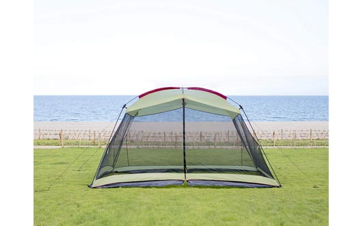 RORAIMA Bugs Proof Roomy Screen House 13'x9'x6.9', Instant Canopy Shelter Screen Tent,Easy Installation Within Mins and Good for Family Picnic Suitable for...